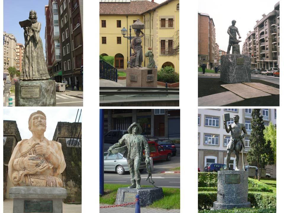 Estatuas Portugalete