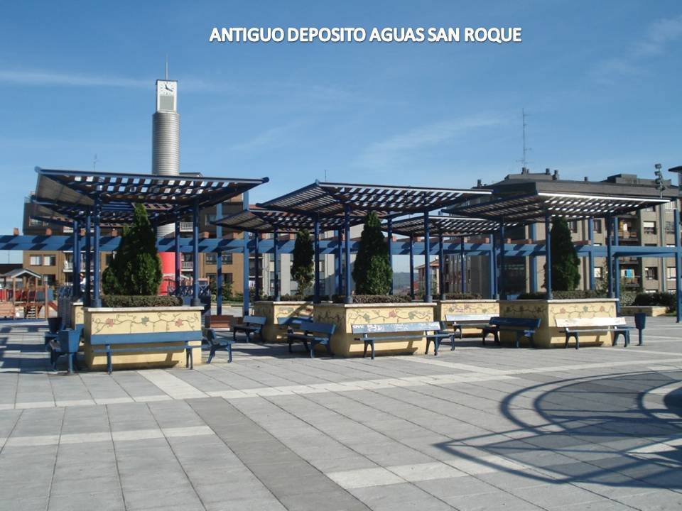 PARQUE DEPOSITO DE AGUAS DE SAN ROQUE