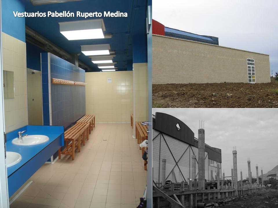 Pabellón de servicios Ruperto Medina