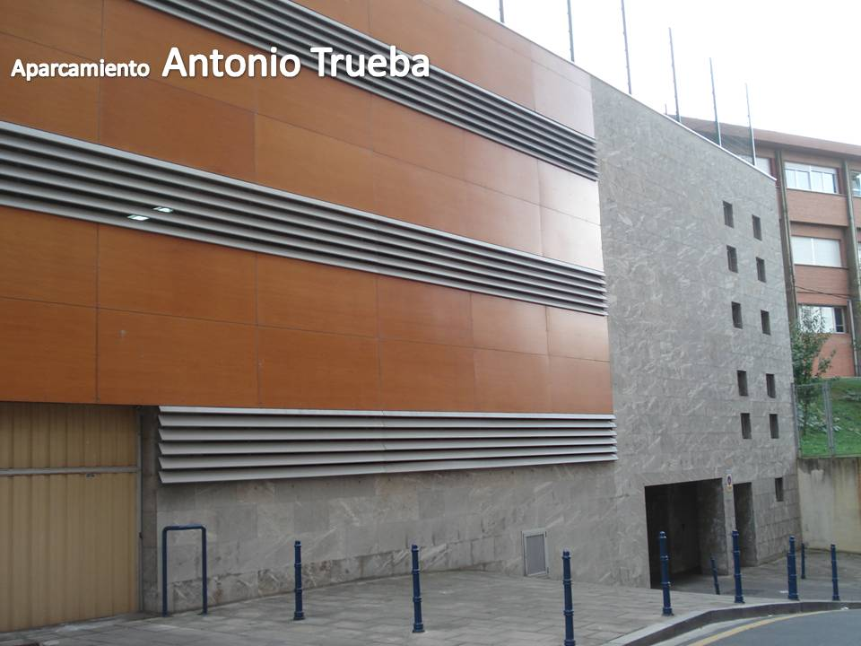 Aparcamiento Antonio Trueba