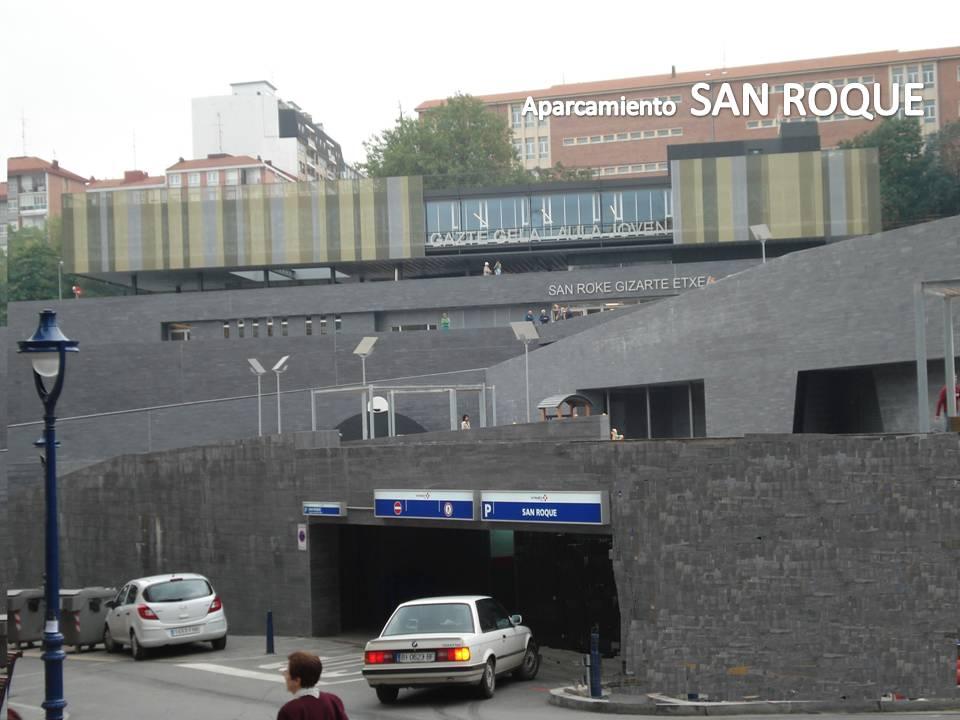 Aparcamiento San Roque